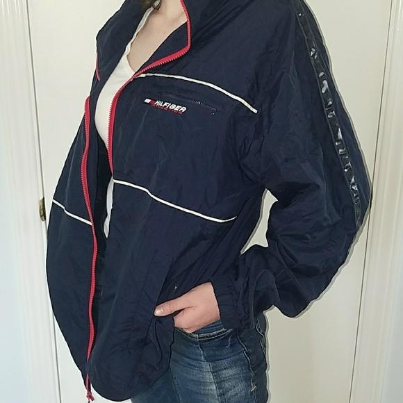 myynti Yhdysvalloissa verkossa erityinen kenkä New York Vintage Tommy Hilfiger sports jacket